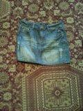 Джинсовые юбочки. Фото 2.