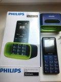 Телефон philips в отл сост куплен в мае 2017. Фото 2.