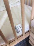 Детская кровать икеа сниглар 60*120. Фото 4.