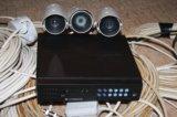 Комплект видеонаблюдение. Фото 1.