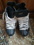 Коньки хоккейные. Фото 1.