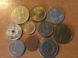 Монеты европы. Фото 1.