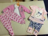 Вещи для девочки до 9 месяцев. Фото 1.