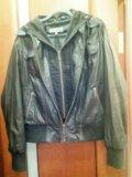 Кожаная куртка женская. Фото 4.