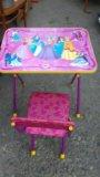 Детский стол и стульчик. Фото 2.