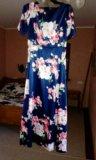 Платье атласное.новое.очень красивое. Фото 2.