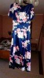 Платье атласное.новое.очень красивое. Фото 3.