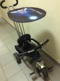 Трехколёсный велосипед на ручке lexus trike. Фото 4.