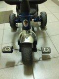Трехколёсный велосипед на ручке lexus trike. Фото 2.