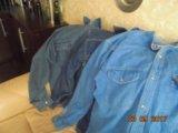 Куртки , комбинезон, джинсовые рубашки. Фото 3.