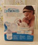 Молокоотсос ручной dr. brown's. Фото 4.