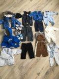 Пакет брендовой одежды на модника от 0 до 3. Фото 1.