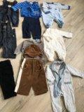 Пакет брендовой одежды на модника от 0 до 3. Фото 2.