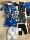 Пакет брендовой одежды на модника от 0 до 3. Фото 4.