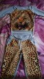 Леопардовый костюм. Фото 1.