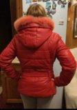 Куртка красная. Фото 2.
