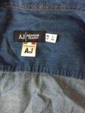 Рубашка джинсовая мужская 48-50р. Фото 2.