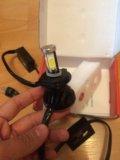 Светодиодные лампы led cnsunnylight h4 3000k. Фото 1.