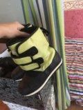 Детские ботинки на зиму 34 р. Фото 1.