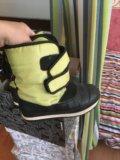Детские ботинки на зиму 34 р. Фото 2.
