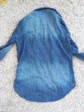 Рубашка джинсовая h&m. Фото 1.
