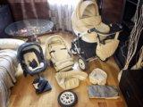 Коляска concord car baby lux 3 в 1 (эко-кожа). Фото 2.