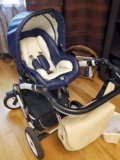 Коляска concord car baby lux 3 в 1 (эко-кожа). Фото 4.