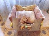 Лежак для домашних питомцев. Фото 2.