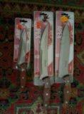 Разнообразные ножи. Фото 1.