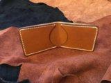 Кожаный кошелек, портмоне. ручная работа. Фото 1.