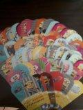 Карточки миньонов. Фото 1.