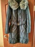 Пальто пуховик зимний. Фото 1.