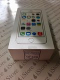 Apple iphone 5s 32gb gold, гарантия. Фото 1.