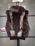 Жилетка из меха чернобурки. Фото 2.