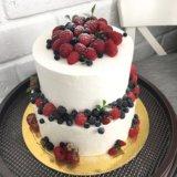 Бисквитный торт. Фото 1.