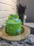 Бисквитный торт. Фото 3.