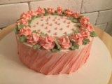 Бисквитный торт. Фото 4.