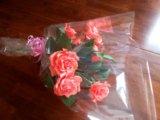 Конфетный букет - чайные розы. Фото 2.