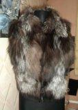 Меховой жилет. Фото 1.