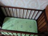 Кроватка детская с матрасом. Фото 3.