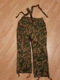 Армейские ватные штаны. Фото 1.