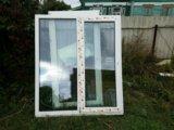 Б/у пластиковые окна. Фото 1.