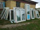 Б/у пластиковые окна. Фото 2.