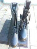 Берцы, туфли военнослужащих. Фото 1.