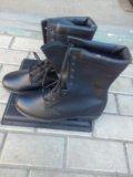 Берцы, туфли военнослужащих. Фото 2.