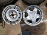 3 шипованных колеса на калину. Фото 2.