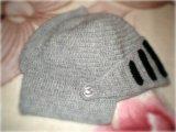 Шапка-шлем. Фото 1.