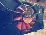 Видеокарта palit gtx 550ti. Фото 1.