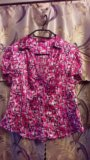 Блузка бу 48 размер. Фото 1.