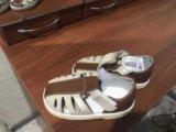 Сандалии босоножки обувь новые 15см по стельке. Фото 2.